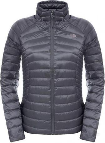 Куртка THE NORTH FACE W Tonnerro Fz Jacket T92UAMHCW L сірий