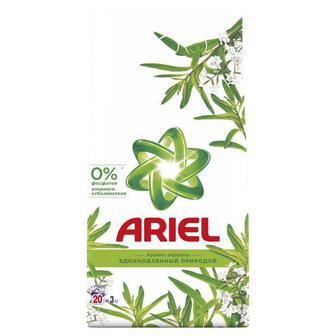 Стиральный порошок автомат ARIEL Color Аромат масла ши Вдохновленный природой, 6кг