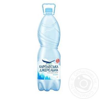 Вода негазированная Карпатська джерельна 2л