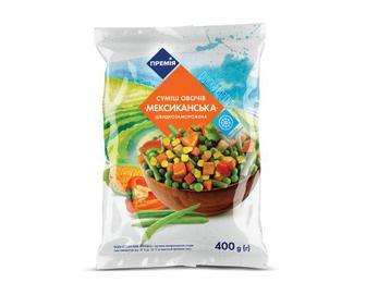 Суміш овочів заморожена «Мексиканська» «Премія»® 400 г