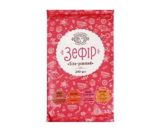 Скидка 30% ▷ Зефір «Богуславна» біло-рожевий, 240г