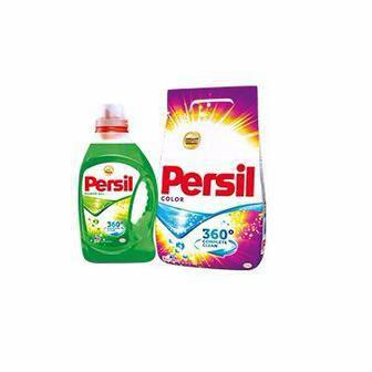 Стиральный порошок торговой марки Persil 6 кг или гель для стирки Persil 1л
