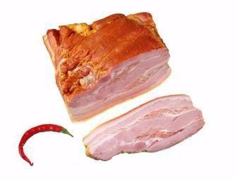 Грудинка свиняча копчено-варена кг