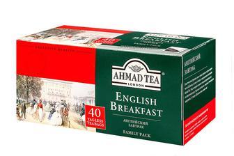 Чай чорний Ahmad 40 пак
