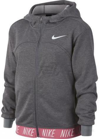 Джемпер Nike G NK DRY HOODIE FZ STUDIO 939533-091 р. L сірий