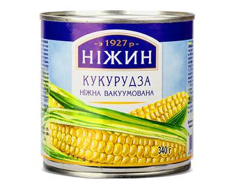 Кукурудза «Ніжин» ніжна, 340г