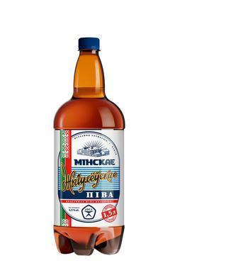 Пиво Жигулевское світле 5% пет., Минское, 1,5л