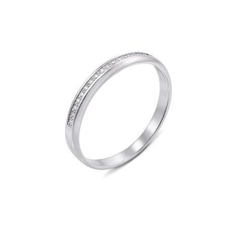 Обручальное кольцо с бриллиантами. Артикул 10153/0.8S б