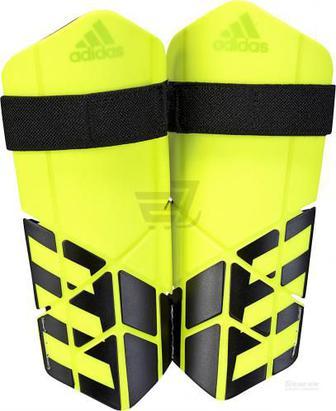 Скидка 30% ▷ Щитки футбольні Adidas CW9719 X LITE р. S салатовий