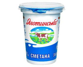 Сметана 15% жиру «Яготинська» 350г