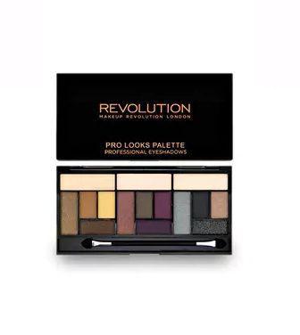 Набір з 15 тіней Makeup Revolution Pro Looks Big Love