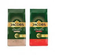 Кофе молотый Monarh Delicate/Intense, Jacobs, 70г