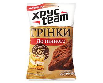 Грінки ХРУСteam «Гострий сир» 55г