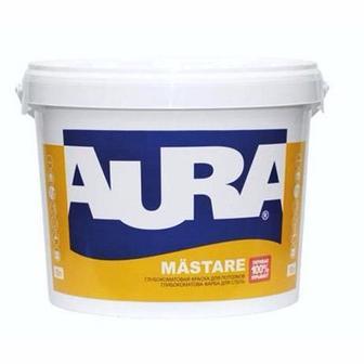 Фарба AURA Mastare водоемульсійна глибокоматова 10 л