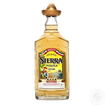 Текіла 38% Sierra Gold, 0,7л