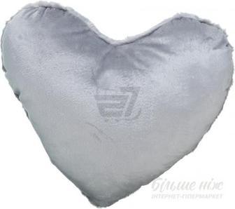 Подушка декоративна Heart 30x40 см сірий La Nuit